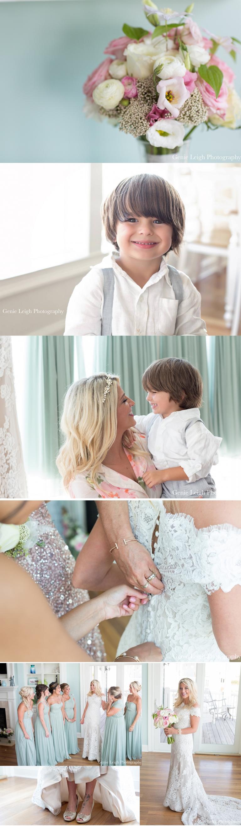 Holden Beach, NC Wedding, Beach, Coastal, Waterfront House, Destination Wedding, Genie Leigh Photography