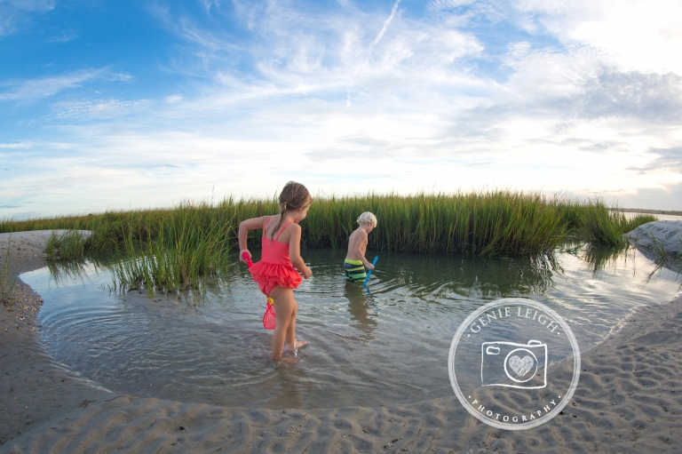 Wrightsville Beach, NC Family Beach Session Lifestyle