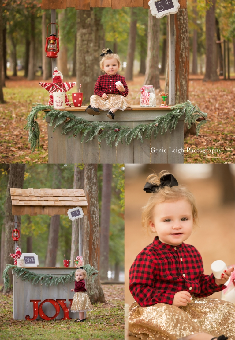 Hot Chocolate Stand Cocoa Homemade DIY Photo Prop Genie Leigh Photography