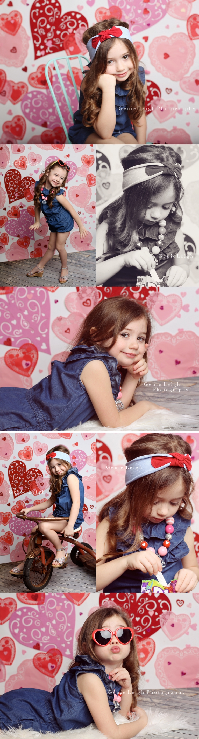 Genie Leigh Valentines Day Photo session Wilmington NC