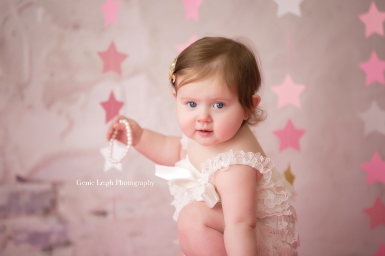 Cake Smash Session Twinkle Star Genie Leigh Photography