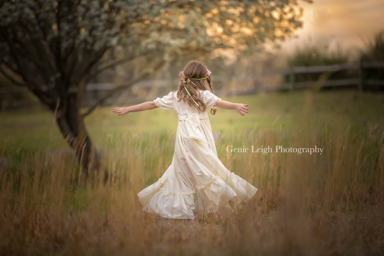 Genie Leigh Photography, Spring, Photo Session, Southern Belle, Vintage Dress, Wilmington, NC Coastal, NC Southport, NC