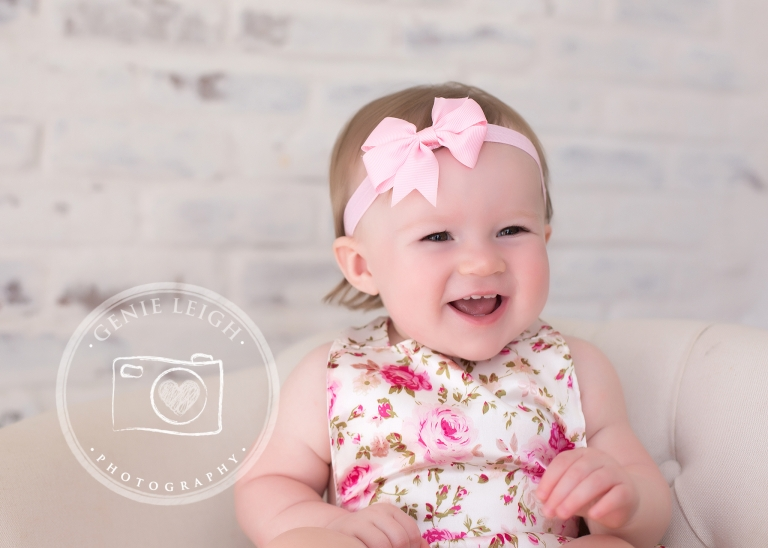 Cake Smash Session, Pink Gold, Genie Leigh Photography