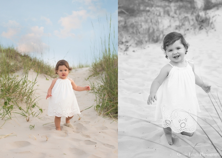 Holden Beach, NC, Family Beach Session, Coastal NC, Coastal, Saltwater, Sibling, Genie Leigh Photography