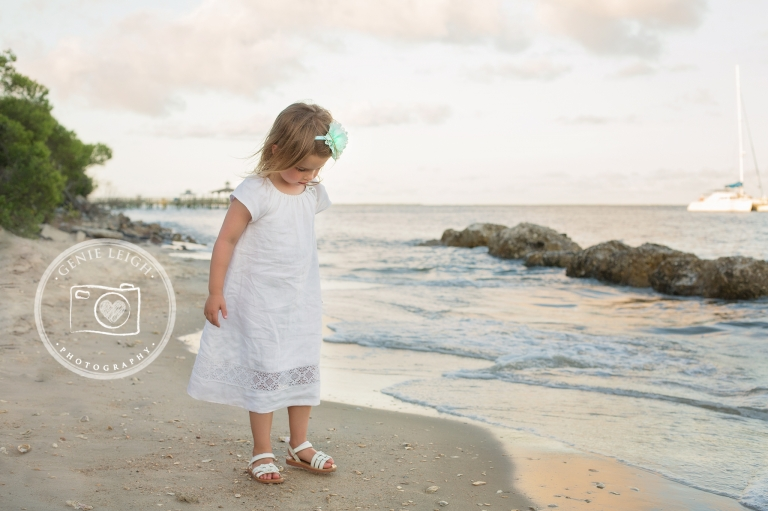 Southport, NC Family Beach Session, Waterfront, Coastal, Genie Leigh Photography