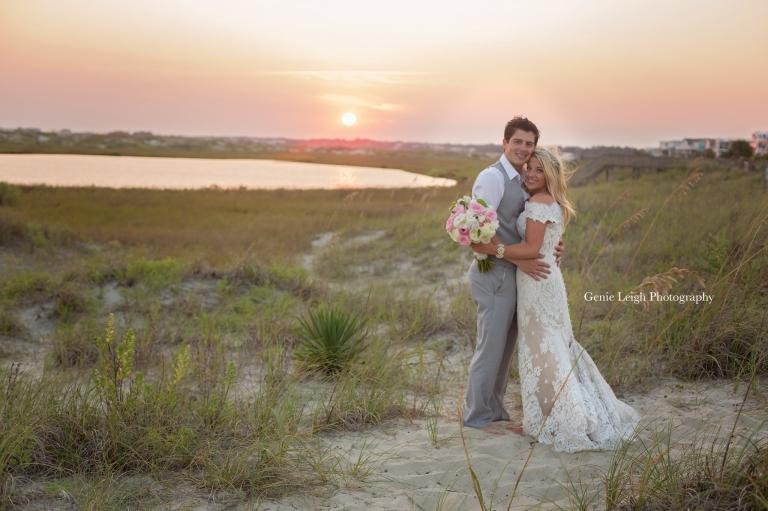 Holden Beach, NC, Wedding, Coastal, Genie Leigh Photography