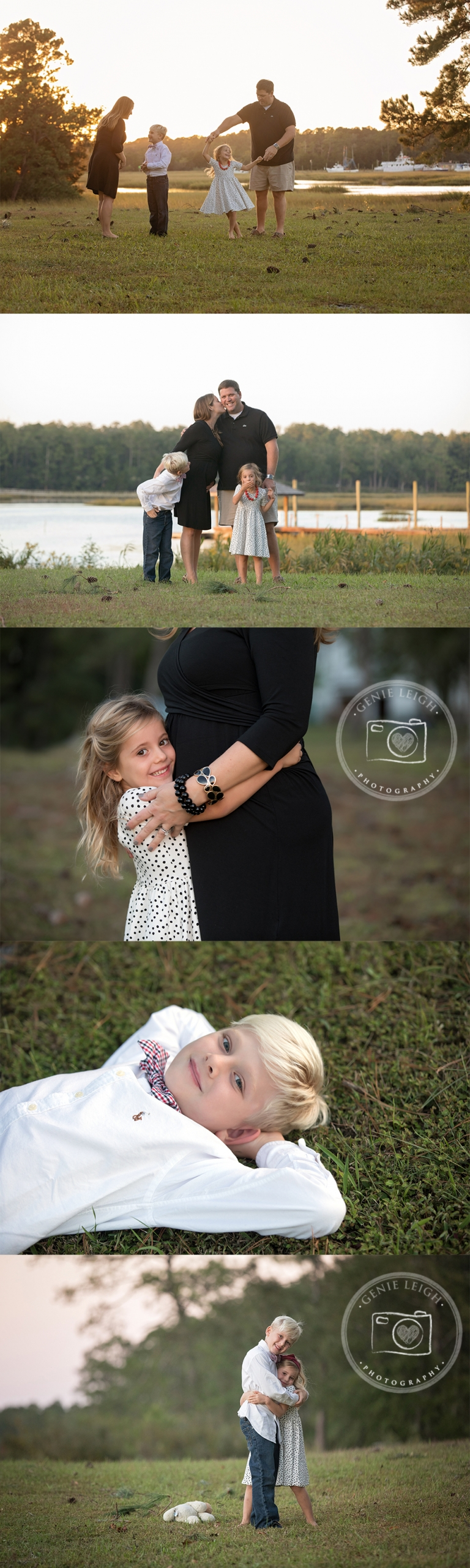 Family Portrait Session, Wilmington, NC Calabash,