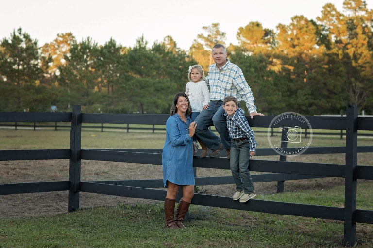 Family Photography Session, Wilmington, NC, Bolivia, Honalee Stables, Horse Farm, Stables, Stable